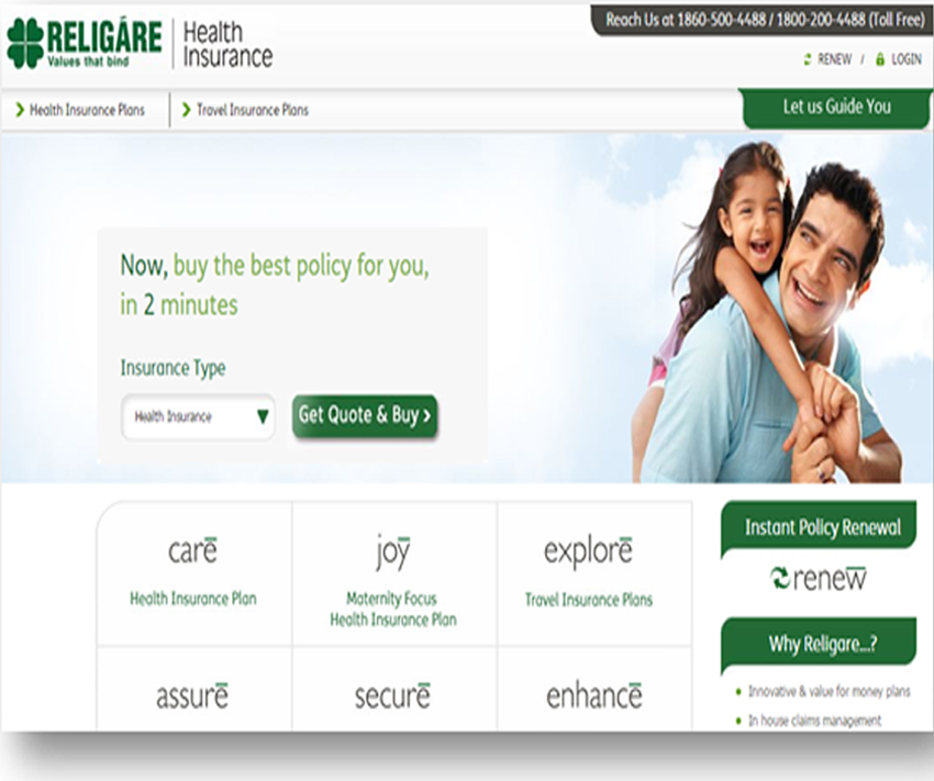 Religare Koncept